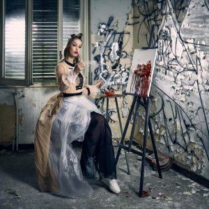 Epic Fool - ph Simone Nervi - muah Antonella Mesina - styling Pro*Lab - model Noa - ag Major