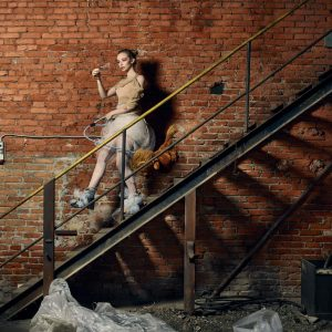 Epic Fool - ph Simone Nervi - muah Aurora Mores - styling Pro*Lab - model Georgia Sandle - ag Next