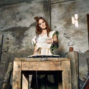 Epic Fool - ph Simone Nervi - muah Giulia Di Pasca - styling Pro*Lab - model Katia Ganzer - ag Major