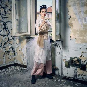 Epic Fool - ph Simone Nervi - muah Ilaria Belloli - styling Pro*Lab - model Valentina R - ag Next