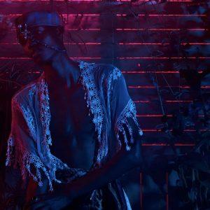 Red Garden - ph Simone Nervi - muah Ketty Chirieleison - styling & hat Lorenzo Seghezzi - model Aza - ag Boom