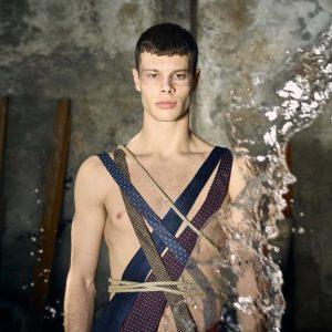 Epic Fool - ph Simone Nervi - muah Mara De Marco - styling Pro*Lab - model Gius - ag Boom