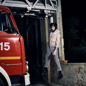 Epic Fool - ph Simone Nervi - muah Mara De Marco - styling Pro*Lab - model John W - ag Boom