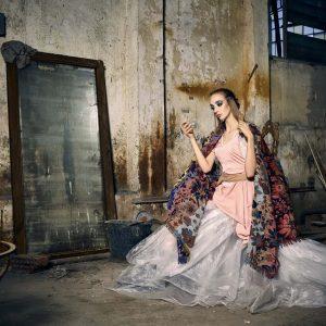 Epic Fool - ph Simone Nervi - muah Maria Vittoria Bosi - styling Pro*Lab - model Leonor - ag The One